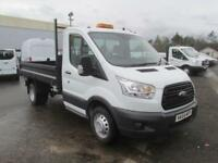 Ford Transit 350 L2 SINGLE CAB TIPPER 125PS EURO 5 DIESEL MANUAL WHITE (2014)