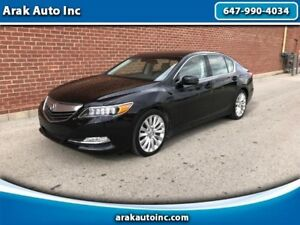 2014 Acura RLX 6-Spd AT w/Technology Package No Accident