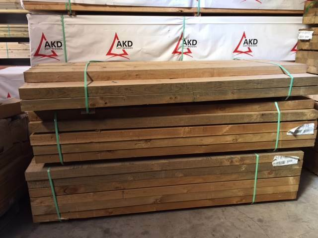 Treated Pine Sleepers 200 X 75 X 2 4 Building Materials