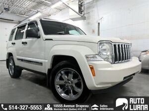 2010 Jeep Liberty LIMITED 4x4/NAVI/CUIRE/TOIT/BLTTH/MAGS/PROPRE!