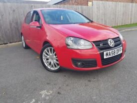 VOLKSWAGEN GOLF 2.0 GT TDI 5DR (red) 2008