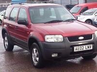 FORD MAVERICK 2.0 XLT 4WD SERVICE HISTORY LOW MILES 93K