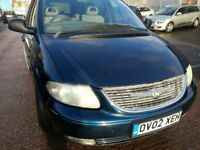 CHRYSLER GRAND VOYAGER LIMITED EDITION AUTOMATIC 7 SEATER ALLOYS LEATHER