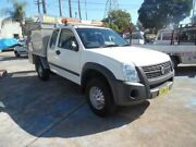 2008 Holden Rodeo RA MY08 LX White 5 Speed Manual Spacecab Homebush West Strathfield Area Preview