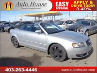 2005 AUDI A4 1.8T CONVERTIBLE TURBO