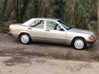 Mercedes 190e clean inside and out long mot no rust