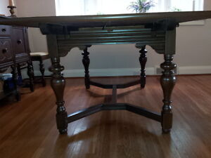 Classic Dining  - Table, Chairs & Cabinet