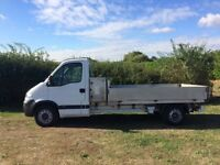 VAUXHALL MOVANO LWB 2.5 DIESEL DROPSIDE TRUCK 2008 08-REG FULL SERVICE HISTORY DRIVES EXCELLENT