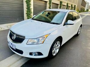 2014 Holden Cruze JH Series II MY14 Equipe White 5 Speed Manual Hatchback Maidstone Maribyrnong Area Preview