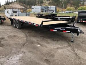 2019 Southland Highboy 8' x 20' Flat Deck Trailer