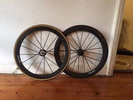 Carbon Bike Wheels - Lightweight - with 3 year insurance Granville Parramatta Area Preview