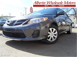 2011 TOYOTA COROLLA 4 DOOR WE FINANCE ALL EASY FINANCING