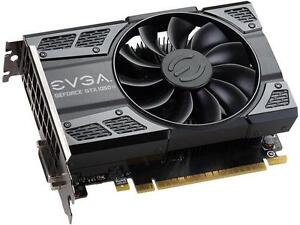 New EVGA GeForce GTX 1050 Ti GAMING, 4GB GDDR5 Video Card