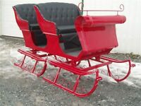 got your new sleigh ? carriage ? wagon?