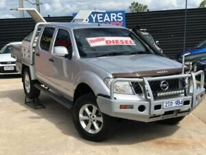 2012 Nissan Navara D40 MY12 ST (4x4) Silver 5 Speed Automatic Dual Cab Pick-up Werribee Wyndham Area Preview