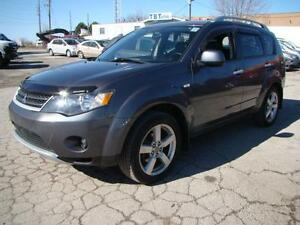 2007 MITSUBISHI OUTLANDER - 7 PASSENGER * AWD *LEATHER * SUNROOF