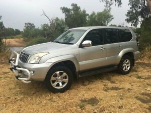 2005 Toyota Landcruiser Prado GRJ120R GXL (4x4) Silver 5 Speed Automatic Wagon Coonamble Coonamble Area Preview