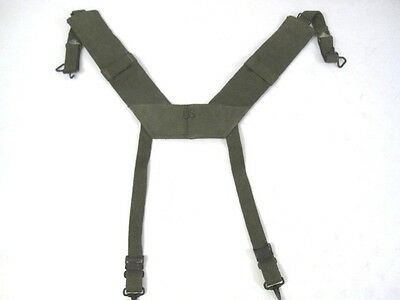 Used, Vietnam USMC US Army M1956 H-Pattern Field Suspenders Size Reg MINT Unissued for sale  Henderson