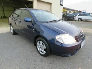 2003 Toyota Corolla ZZE122R Ascent Blue 4 Speed Automatic Sedan Werribee Wyndham Area Preview