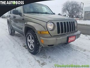 2005 Jeep Liberty Renegade CERTIFIED! ACCIDENT FREE! WARRANTY!