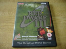 Red Dwarf 3 DVD 2 Disc Set Original BBC Series