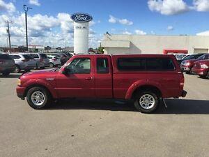 2011 Ford Ranger XL SPORT, A/C, CRUISE, TOW PKG, TRUCK BED CAP
