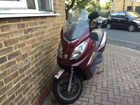 Peugeot Satelis 125cc Premium 1 Year M.O.T Moped Scooter Motorbike MotorCycle Quad Bike Trike