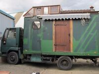 Semi Converted horsebox home, must sell this week!