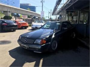 1991 Mercedes-Benz SL500 Convertible (PARTS ONLY)