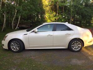 Cadillac CTS 2013. Bas kilométrage et très bon état.