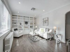 Renovated 2 BR house @ East York