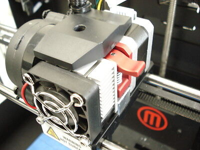 Makerbot Replicator 2 Extruder Upgrade Filament Drive. Build Plate Glass