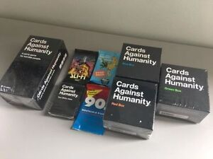 Cards Against Humanity - brand new, unopened + expansions
