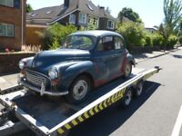 CAR DELIVERY- COLLECTION CLASSIC CARS, SOUTH WALES BASED