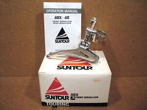 New-Old-Stock-Suntour-ARX-Front-Derailleur-Clamp-On-28-6-mm-Model