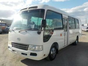 2008 Toyota Coaster White Bus 4x2
