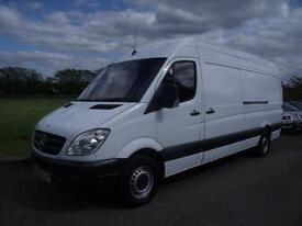 MERCEDES SPRINTER 313 CDI LWB - HIGH TOP, White, Manual, Diesel, 2012