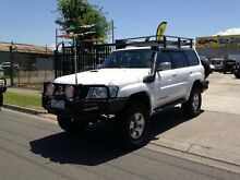 2006 Nissan Patrol GU IV ST-S (4x4) White 5 Speed Manual Wagon Williamstown North Hobsons Bay Area Preview
