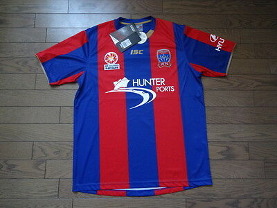 Newcastle United Jets 100% Original Jersey 2012/13 L BNWT Australia A-League  image