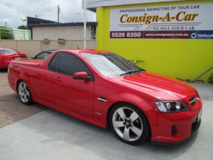 2009 Holden Ute VE MY10 SS V Red 6 Speed Sports Automatic Utility