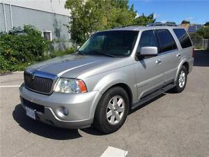 2003 Lincoln Navigator**7 PASSENGER**ONLY 181,000KM**RUNS GREAT*
