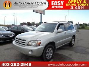 2006 Toyota Highlander LIMITED V6 leather 4wd