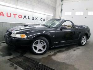 2000 Ford Mustang GT 4.6L V8 DÉCAPOTABLE CUIR MAGS CRUISE
