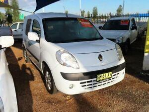 2011 Renault Kangoo F61 White 4 Speed Automatic Van Minchinbury Blacktown Area Preview