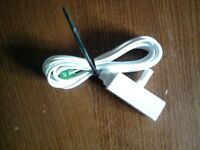 4 Wire to RJ11 Splitter Adaptor Phone Cable 2m