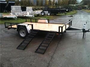 "US CArgo ATV Utilty Trailer 83""x12`with electric brakes"
