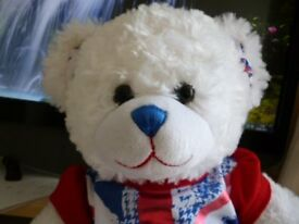 build a bear in excellent condition needs a loving home.