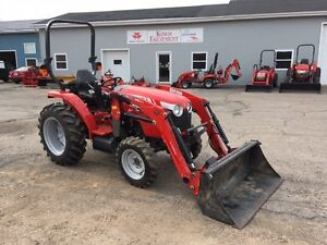 Used 2016 Massey Ferguson 1739EL 39hp Tractor with Loader