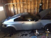 Parting Out 2003 Infiniti G35 Coupe (2 door)