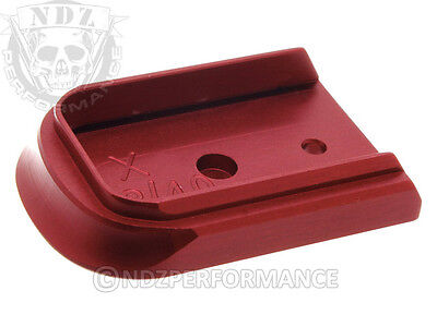 Floor Base Mag Plate For Springfield Xd 9Mm  40 Red With Lasered Images